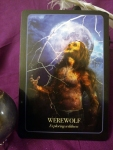 Halloween Oracle - Werewolf