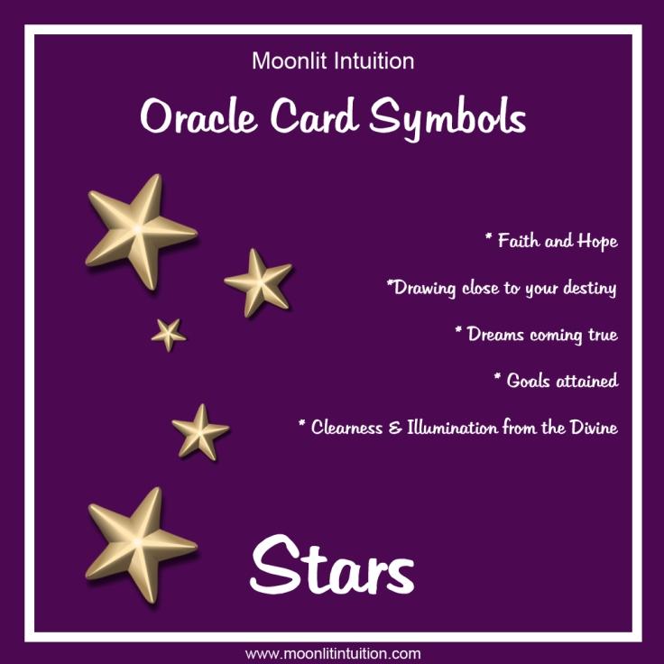 Moonlit Intuition Symbols - Stars